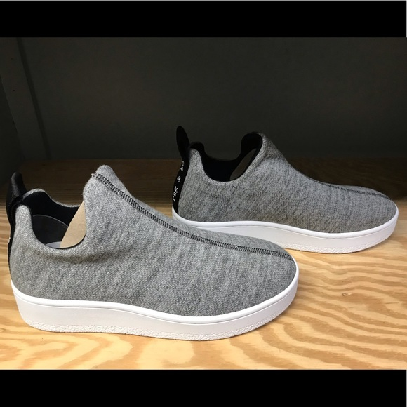 Rag Bone Orion Knit Platform Sneakers